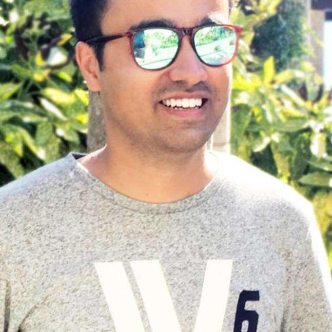 Photo of Bhanu Ahluwalia with sunglasses